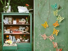 all the butterflies remind me of Diane (: