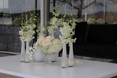 First Look at Minnie Dlamini & Quinton Jones' Fairytale Wedding - BellaNaija Fairytale Weddings, Cinderella Wedding, Flower Decorations, Wedding Decorations, Wedding Ceremony, Wedding Gowns, Bride Look, Champagne Color, Wedding Wishes