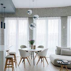 Квартира 70 квадратных метров на Мосфильмовской   Интерьеры на www.elle.ru
