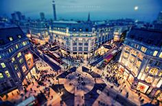Oxford Circus Crossing by isayx3, via Flickr