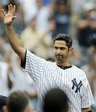 New York Ap Jorge Posada Was Watching Television When He Saw Speculation On Which Teams Were Interested New York Yankees Yankees News Yankees