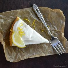 The View from Great Island | Flourless Whole Meyer Lemon Cake (gluten free, fodmap friendly)