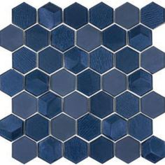 Blue Bathroom Vanity, Bathroom Niche, Laundry Room Bathroom, Office Bathroom, Shower Niche, Bathroom Remodeling, Bathrooms, Shower Floor Tile, Bathroom Floor Tiles