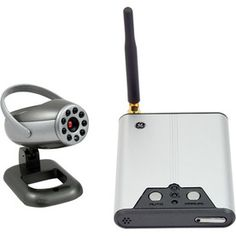 GE Wireless Security Camera with Receiver
