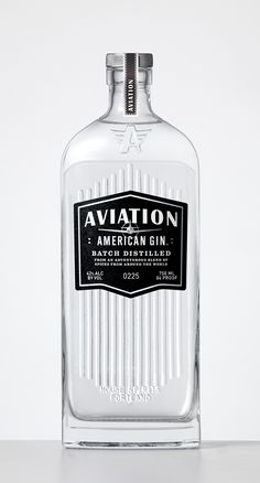 Packaging / Aviation Gin - Packaging by Sandstrom Partners