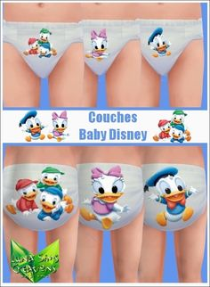 Lot Couches bambin - Baby Disney