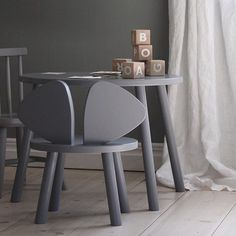 Leo & Bella | NOFRED Mouse Chair Natural Grey
