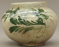 KOREAN POTTERY VESSEL circa 19th century or earli