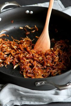 How to: Caramelize Onions