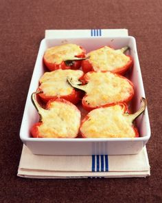 Polenta-Stuffed Peppers - Martha Stewart Recipes