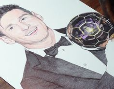 """Check out new work on my @Behance portfolio: """"Messi Ballpoint Pen Drawing - Ballon d'Or 2015"""" http://be.net/gallery/33066443/Messi-Ballpoint-Pen-Drawing-Ballon-dOr-2015"""