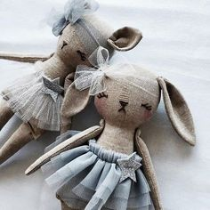 My new Tiny Le Chat and Bunny will be joining the group xx #littlemisstippytoes