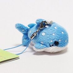 Munyu Mamu Stuffed Plush Type Cellphone Charm (Whale Shar