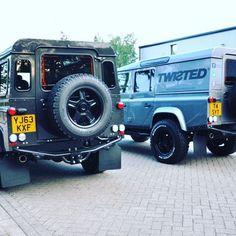 Ready for anything! -  #TwistedDefender #Lifestyle #Defender #LandRover #4x4 #LandRoverDefender #GoAnywhere #AntiOrdinary #Style #Handmade #Handcrafted #Modified #Customised #Yorkshire #BestOfBritish #Iconic #ModernClassic #Power #Speed #Automotive