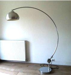 lampadaire chrome annee 70