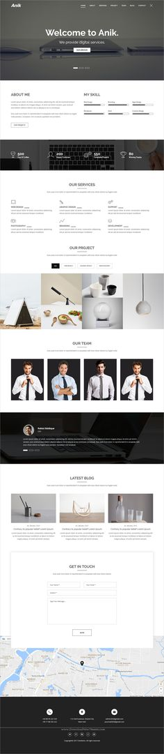 Company Portfolio Template Awesome Void  Onepage Parallax Personal Portfolio Templates  Personal .