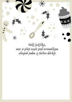 ▷ Dopis Ježíškovi snadno a rychle: vzory Advent, Playing Cards, Gardening, Lettering, Halloween, Christmas, Poster, Creative, Xmas
