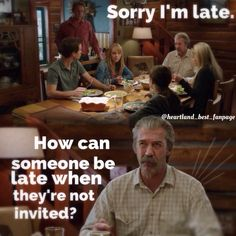 Jack and Tim at Dinner ❤heartland Watch Heartland, Heartland Quotes, Heartland Ranch, Heartland Tv Show, Best Tv Shows, Best Shows Ever, Ty E Amy, Funny Quotes, Funny Memes