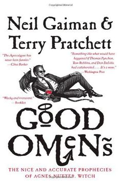 Good Omens by Neil Gaiman and Terry Pratchett. 432 pages.