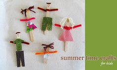 popsicle stick people
