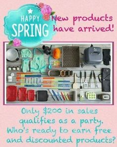 Who wants to host a party and earn our amazing new SPRING PRODUCTS FOR FREE!? They are available hosts wanted VIRTUAL party #kitchengadgets #kitchentools #everything  you need www.pamperedchef.biz/carolyncooks4u