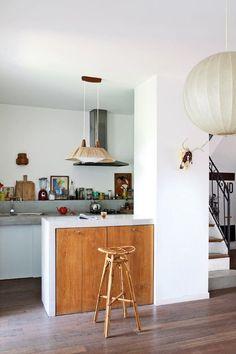 Small designed kitchen: 100 models perfect to inspire you - Home Fashion Trend Kitchen Interior, Kitchen Design, Kitchen Ideas, House Essentials, Boho Kitchen, Cuisines Design, Home Fashion, Home Kitchens, Kitchen Remodel