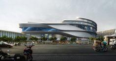 Shopping Mall. Image Courtesy of Aedas