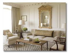 Elegant white living room, living room, interior design, home interior--this is so my style if I had to pick one! Elegant Living Room, Formal Living Rooms, My Living Room, Home And Living, Living Room Decor, Living Spaces, Barn Living, Elegant Dining, Dining Rooms