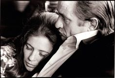 Johnny Cash and June Carter, 1969, by Jim Marshall