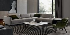O sofá Bristol foi desenhado em 2013 pelo arquiteto e designer francês Jean-Marie Massaud. É um sofá modular com um ADN contemporâneo fortemente vincado.