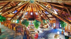 Inside the Mission Point Resort on Mackinac Island...great place to stay!