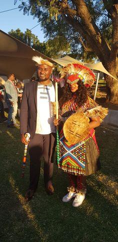 Jabu & Thabani's Gorgeous Zulu Wedding For 2019 Bridesmaids And Groomsmen, Wedding Bridesmaids, Wedding Tips, Wedding Blog, Zulu Traditional Wedding, Traditional Dresses, Got Married, Getting Married, Zulu Wedding