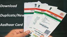 How To Get Lost Aadhar Card  #lostaadharcard, #onlineaadharcarddownload, #getnewaadhar