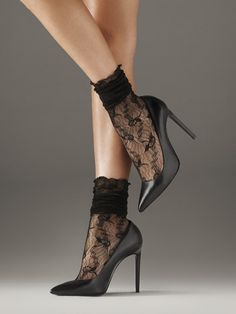 Sexy Wolford Lilie Socks - $48.00
