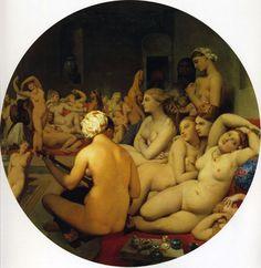 $764, The Turkish Bath  Artist: Ingres