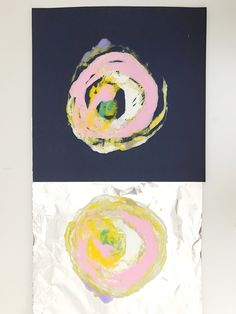 Tinfoil Monoprints — ART CAMP Tinfoil monoprints inspired by Wassily Kandinsky, and Peter Reynold's picture book, The Dot Club D'art, Art Club, Wassily Kandinsky, Classe D'art, School Art Projects, Clay Projects, Simple Art Projects, Family Art Projects, Art Lessons Elementary