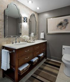 Gold Coast - Pied-à-Terre - transitional - bathroom - chicago - Stephen Young Design LLC