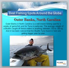 It's Monday Funday! For all fishing enthusiasts out there, Here is The Best Tuna Fishing Spot in the World. mywebtravelagent.com