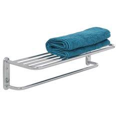 Howards Storage World | Wall Shelf & Towel Rack