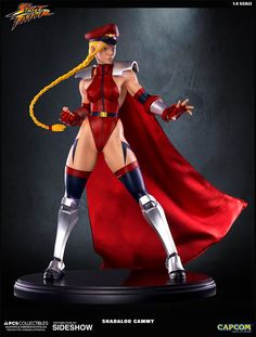 Cammy Street Fighter, Super Street Fighter, Video Game Characters, Female Characters, Anime Figures, Action Figures, Snk King Of Fighters, Gi Joe, Pop Culture Shock