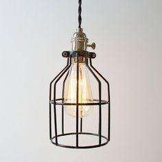 Speakeasy Cage Light
