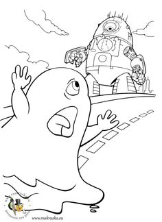 monsters vs aliens coloring pages for kids