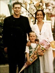 Richard Kruspe and daughter, Khira Li Lindemann