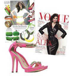 Clipping de Agosto  Revista Vogue