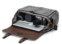 ONA Brixton Camera & Laptop Messenger Bag