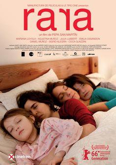 Rara   Director Pepa San Martín   Una historia inspirada en el caso de una jueza chilena a quien le quitaron la custodia de sus hijas por ser lesbiana, y que está contada desde el punto de vista de Sara, la hija mayor de 13 años. #Movies #TestDeBechdel #Film #cinema #películas