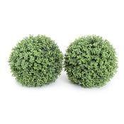 21.5 Boxwood Ball UV stable greenery