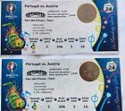 #Ticket  2 EURO CUP Tickets France 2016 Portugal v Austria (Cristiano Ronaldo Pepe Nani) #deals_us