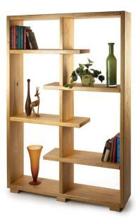 We love this Contemporary Shelving with floating layers to create an interesting piece! | Click through to download the building instructions!