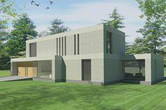 Moderne villa, ontworpen door Wenink Holtkamp Architecten